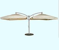 Уличный зонт Дабл XL для кафе, ресторана, отелей