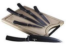 Набор ножей с доской Berlinger Haus Black Royal Collection BH-2549 6 предметов