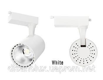 Світильник трековий світлодіодний на шинопровід MGD-B55 LED 30W 4100К білий