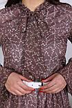 Сукня легка міді в квітковий принт АМ2775, фото 2