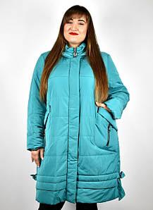 Демисезонная женская верхняя одежда больших размеров от 48 до 82