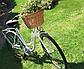 Корзина из лозы на руль велосипеда Eurorover коричневая, фото 2
