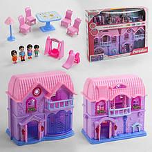 Будиночок КВ 99-40 (16) світло, звук, 4 фігурки персонажів, меблі, в коробці