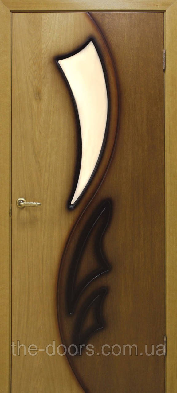 Двери Omis Лилия 2 ПО натуральный шпон