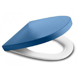 KHROMA сиденье для унитаза (slow-closing) синий