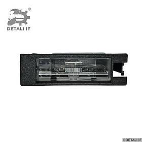 Ліхтар підсвічування номера Opel Astra J 13139990 13251936