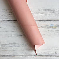 Шкірзамінник палітурний - матовий - рожевий пудровий VH121 - виробник Італія - 24х105 (невеликі сліди пасти)