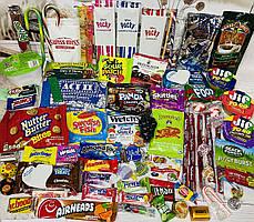 Огромный набор сладостей из Японии и Америки Sweet Box