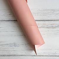 Шкірзамінник палітурний - матовий - рожевий пудровий VH121 - виробник Італія - 25х35 (слід від пасти)