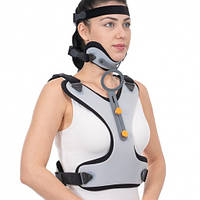 Корсет-воротник Минерва для жесткой фиксации шейного и грудного отделов позвоночника - Ersamed ERS-116