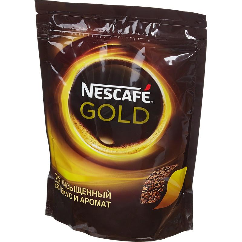 Кофе растворимый Nescafe Gold 60 г. м/у