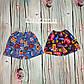 Детские шорты цветные для мальчика кулир, фото 2