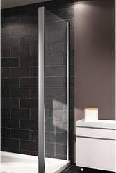X1 стенка боковая 90см, профиль глянцевый хром, стекло прозрачное