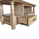 """Журнальний столик """"Прованс"""" з масиву Клена під Чистий Лак, фото 4"""