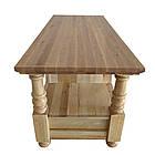 """Журнальный столик """"Прованс"""" из массива Клена под Чистый Лак, фото 5"""