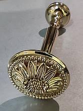 Підхоплення для штор Квітка / Флор / Розета металева