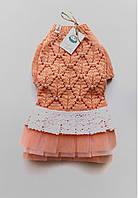 Платье для собак мелких пород. Одежда для собак. Красивое платье для собачки.