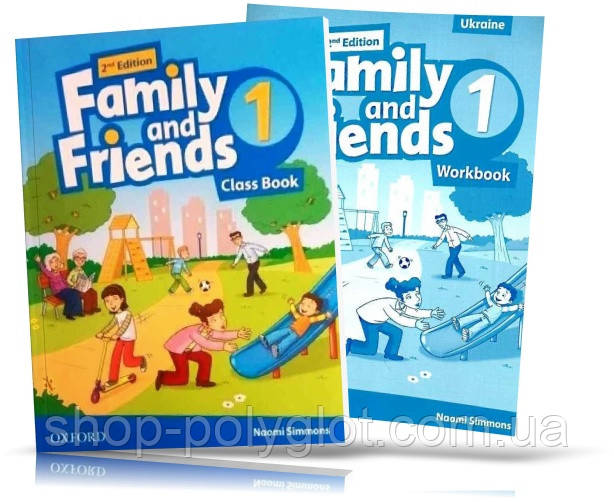 Family and Friends 2nd Edition 1 Class Book + Workbook (Учебник и рабочая тетрадь)