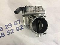 Блок дроссельной заслонки Volkswagen Touareg 3.6L 2012 год (б/у) 4E0145950H