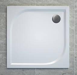 TRACY поддон квадратный 90х90 см, белый