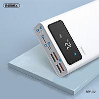 Портативная батарея Power Bank Remax Original RPP-112 Mengine Series 4USB Led 30000mAh, фото 1