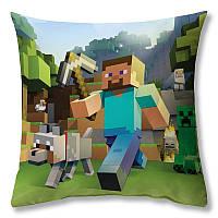 Подушка Minecraft 40 × 40 см принт (podushka-0022)