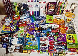 Очень большой набор сладостей из Америки и Японии