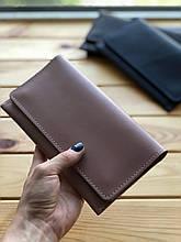 Жіночий шкіряний гаманець Emma (Ручна робота)