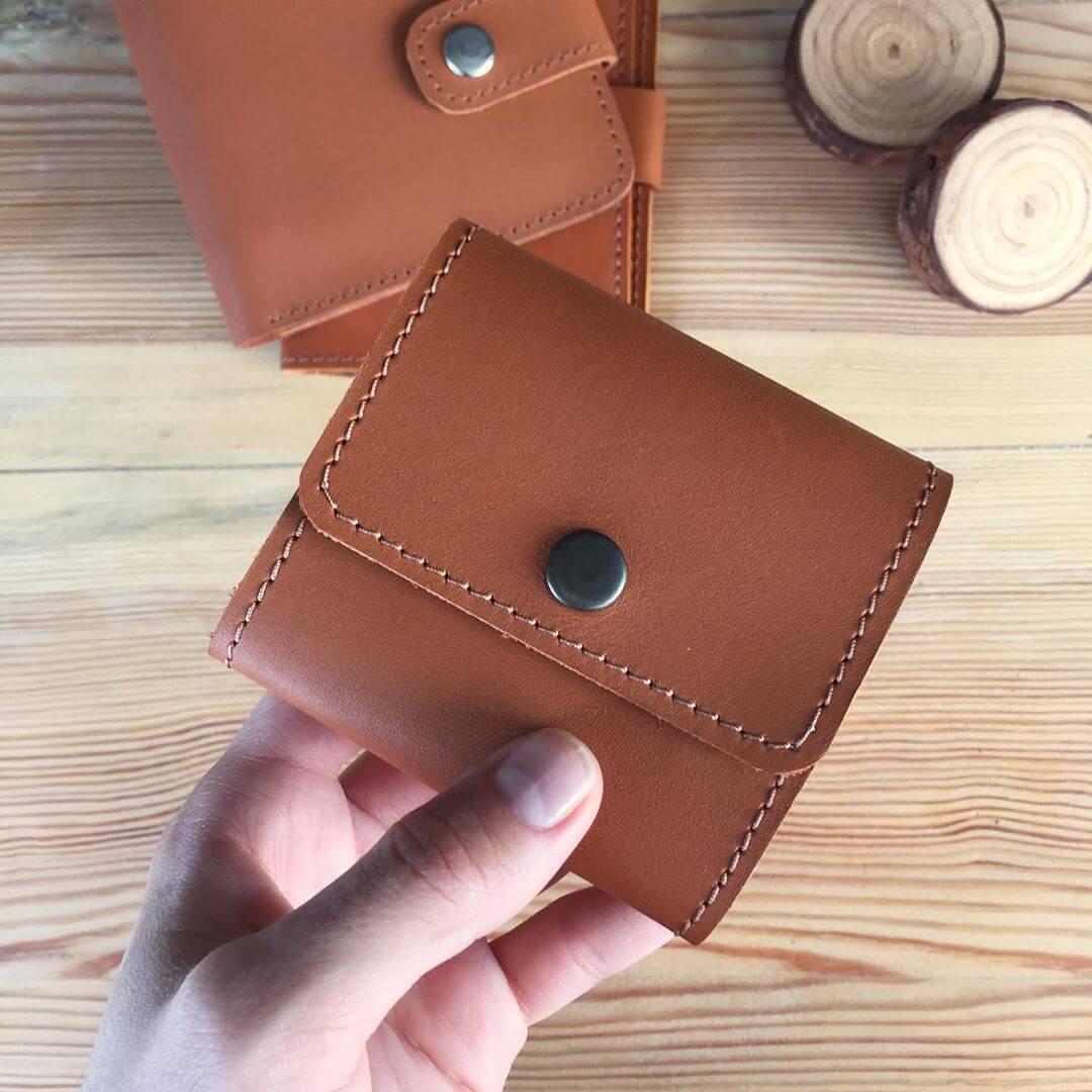 Жіночий шкіряний гаманець Erin (Ручна робота)