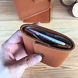 Жіночий шкіряний гаманець Erin (Ручна робота), фото 2