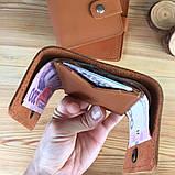 Жіночий шкіряний гаманець Erin (Ручна робота), фото 3