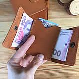 Жіночий шкіряний гаманець Erin (Ручна робота), фото 6