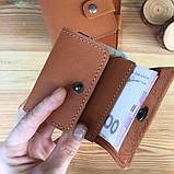 Жіночий шкіряний гаманець Erin (Ручна робота), фото 7