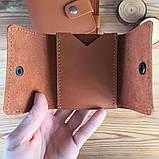 Жіночий шкіряний гаманець Erin (Ручна робота), фото 8