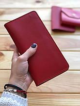 Жіночий шкіряний гаманець Katrine (Ручна робота)