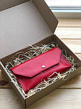 Женский кожаный кошелек Ruby (Ручная работа)