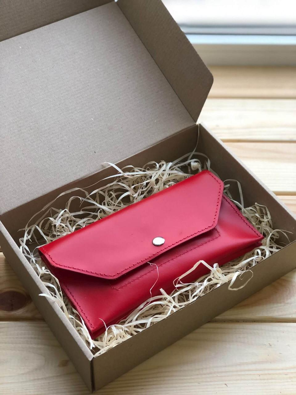 Жіночий шкіряний гаманець Ruby (Ручна робота)