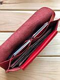 Женский кожаный кошелек Ruby (Ручная работа), фото 2