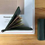 Кожаный зажим для купюр Lewis (Ручная работа), фото 6