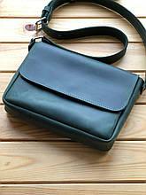 Кожаная женская сумка (портфель) Rosie (Ручная работа)