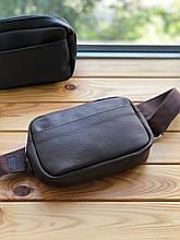 Шкіряна жіноча сумка поясна Darcy (Ручна робота)