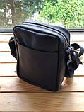Шкіряна чоловіча сумка Ronnie (Ручна робота), фото 3