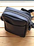 Шкіряна чоловіча сумка Ronnie (Ручна робота), фото 4
