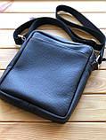 Шкіряна чоловіча сумка Ronnie M (Ручна робота), фото 3