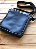 Шкіряна чоловіча сумка Ronnie M (Ручна робота), фото 4