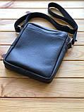 Шкіряна чоловіча сумка Ronnie M (Ручна робота), фото 5