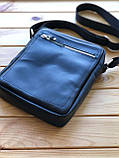 Шкіряна чоловіча сумка Ronnie M (Ручна робота), фото 6