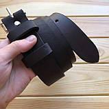 Ремень кожаный 3,8 см  (Ручная работа), фото 3