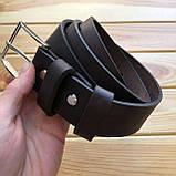 Ремень кожаный 3,8 см  (Ручная работа), фото 4