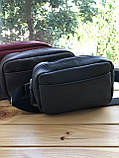 Шкіряна чоловіча сумка поясна Darcy (Ручна робота), фото 2